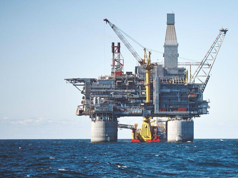 plataforma petrolera marítima