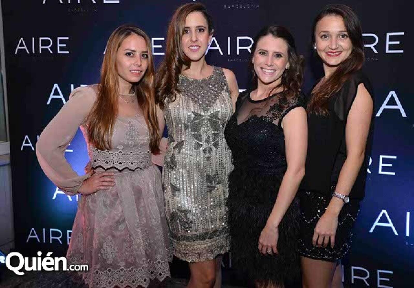 Gaby Rivas,Mariela Molina,Ana Laura,Capetillo y Andrea Díaz.