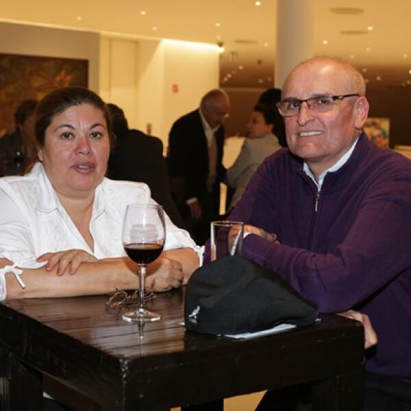 Gabriela Pérez y Roberto Domínguez