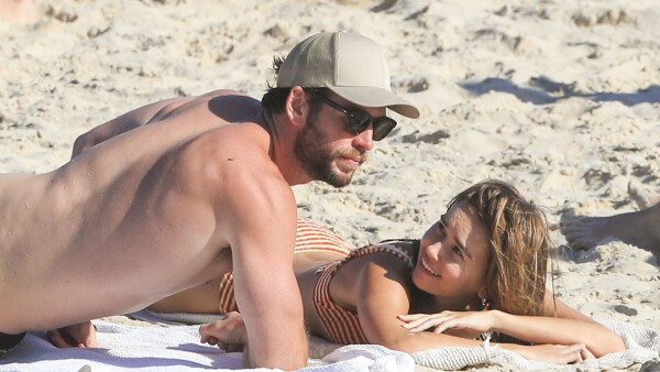 PREMIUM EXC Liam Hemsworth,Gabriella Brooks