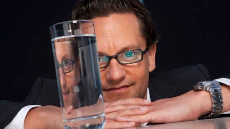 water sommelier Martin Rieser