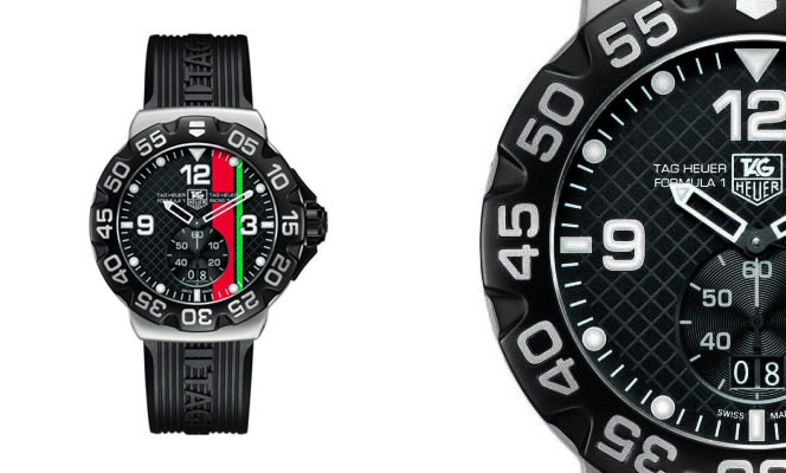 El F1 edición limitada de 150 piezas 'México Racing Team', personifica la celebración a los 150 años del Motoracing, en colores verde y rojo que representan la importancia de la marca en México.