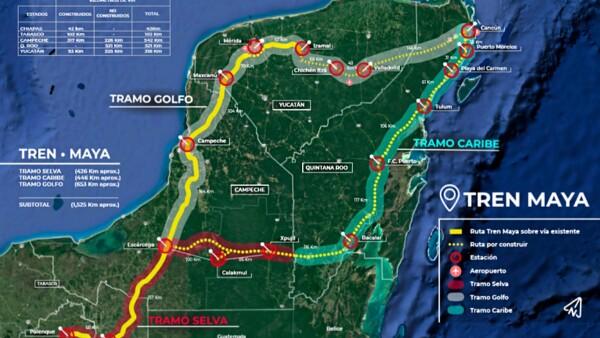 Tren Maya generará conectividad en Península de Yucatán
