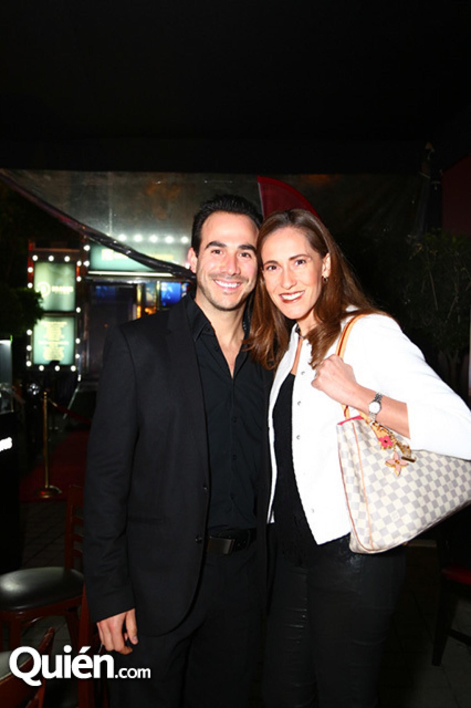 José Pablo Domenzain y Estela Oropeza