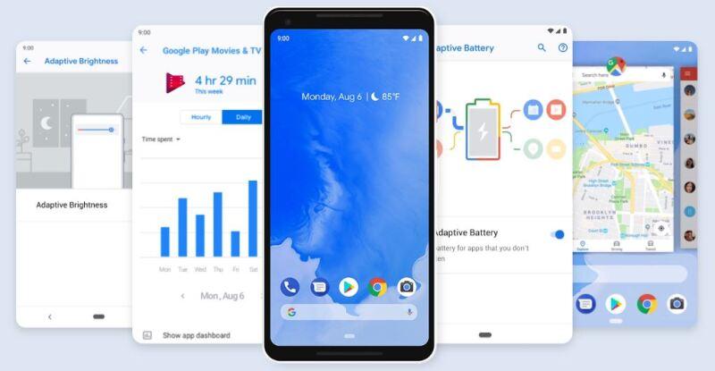 Resultado de imagen para Google da una 'probada' del Android 9 Pie