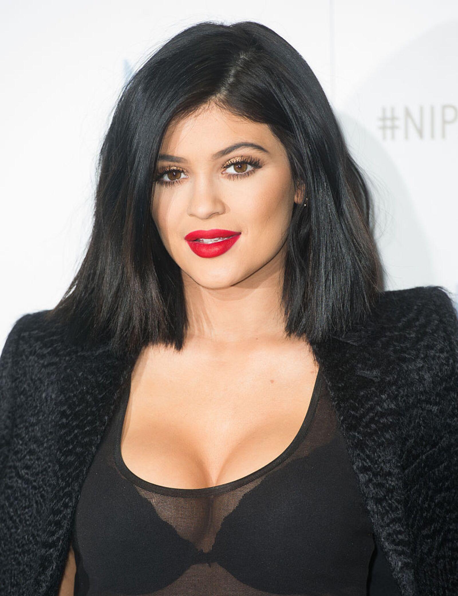 Kylie Jenner: Ambassador For Nip+Fab Photocall