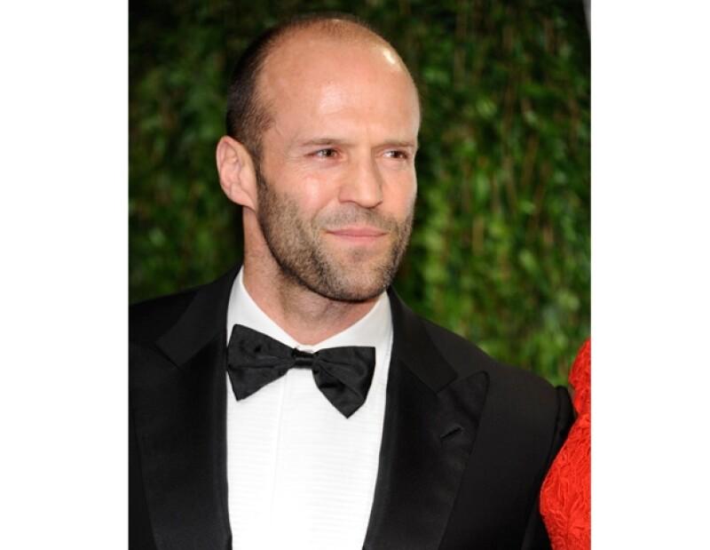 Jason Statham también arremetió en contra la de empresario en el mes de marzo.