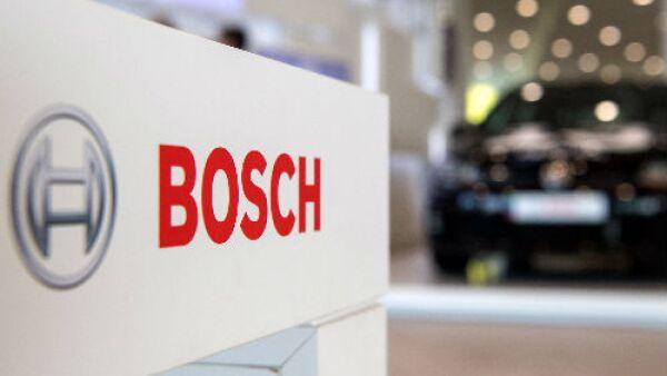 Logo de Bosch y auto