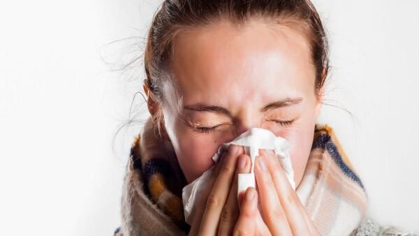 nariz con frío