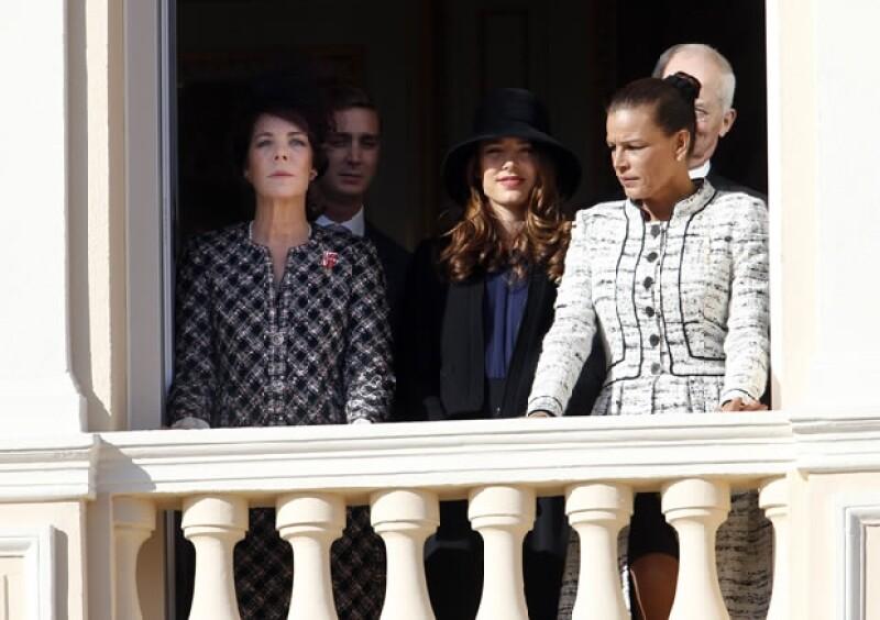 Algunso de los miembros de la Casa Real Grimaldi.
