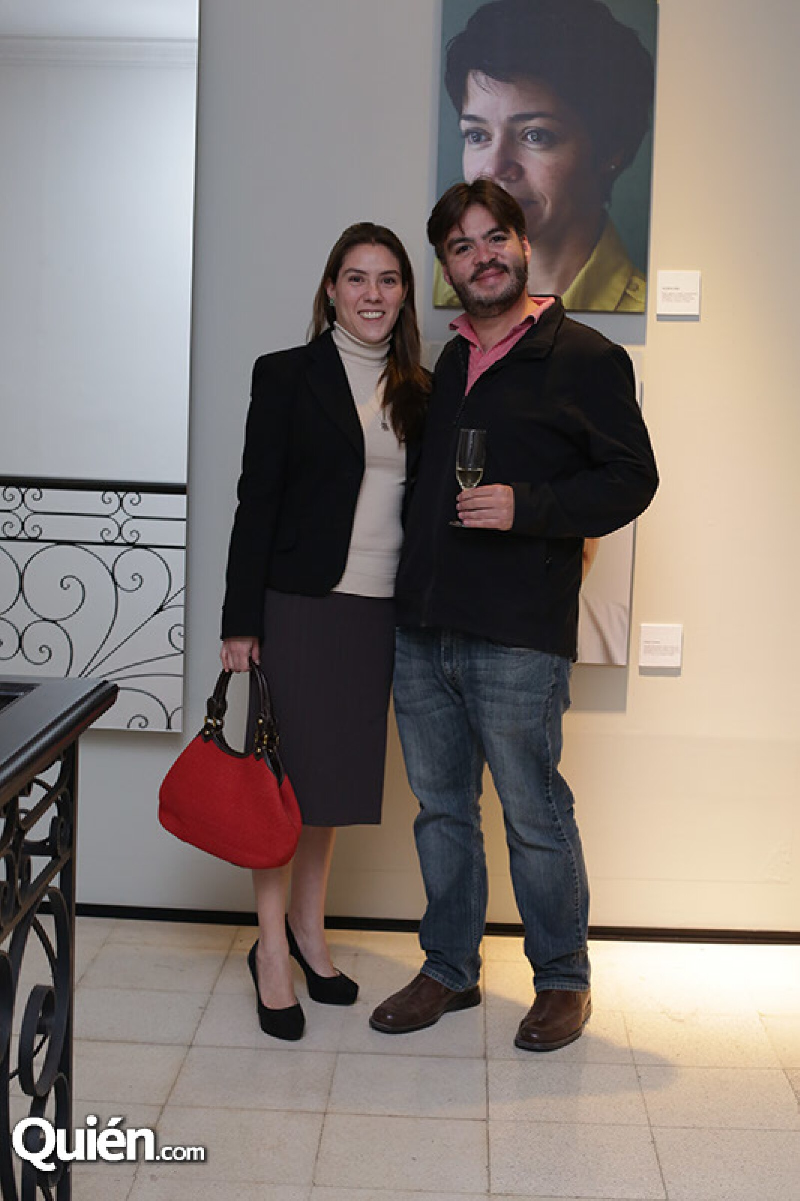 Ximena Audiffred y Gustavo Acosta