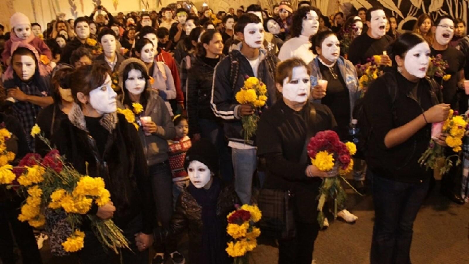 Mov por la paz Xalapa Veracruz
