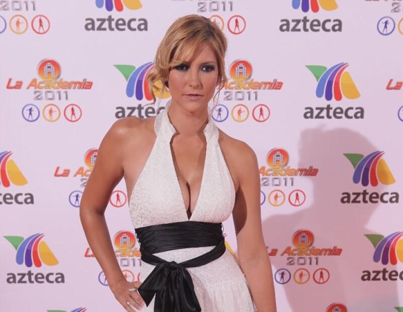 Ceci Pinheiro mostró gran estilo en el evento.