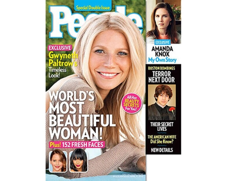 Como cada año, la revista People selecciona a una celebridad para obtener dicho título; una de las razones por las cuales ganó la madre de dos, es por su estilo de vida.