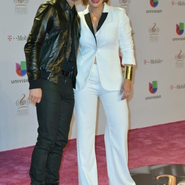 Prince Royce y Olga Tañón.
