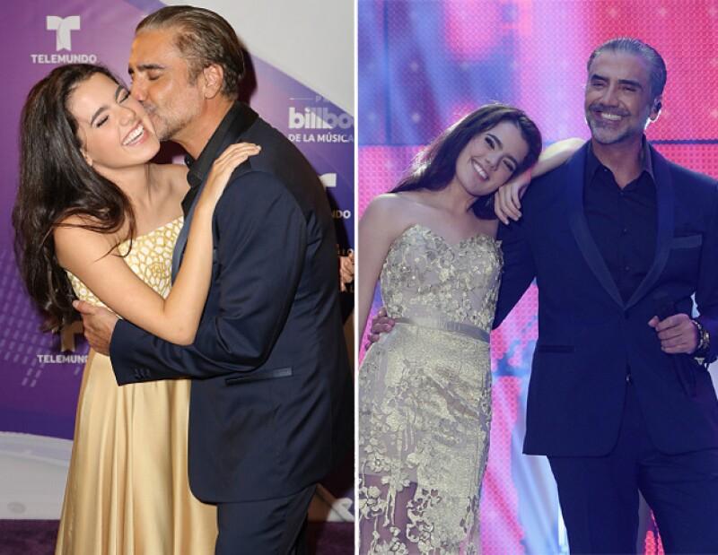En la más reciente edición de los Latin Billboard, Alejandro y Camila demostraron que su relación padre-hija es perfecta.