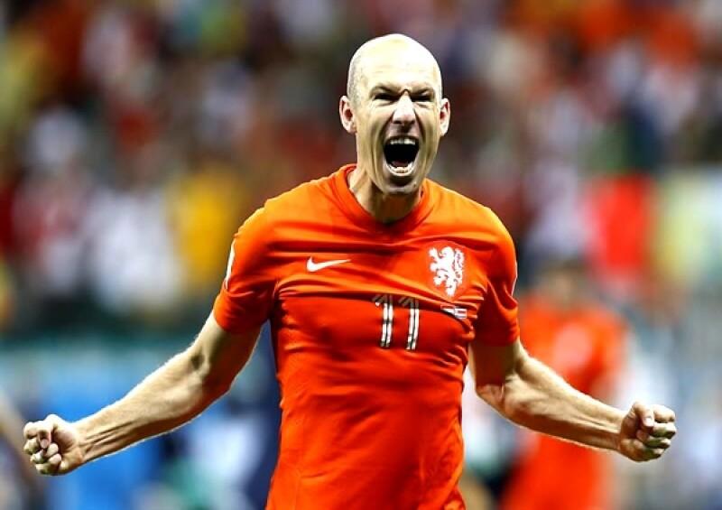 El jugador Arjen Robben de nuevo fue el antagonista del partido.