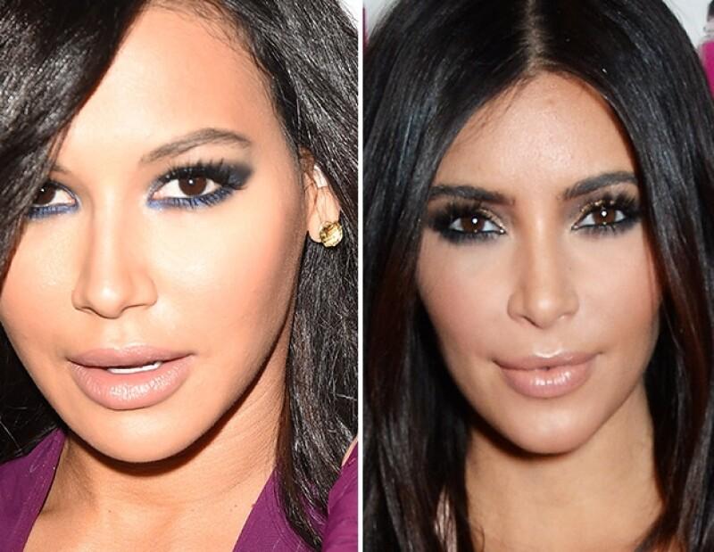 Kim Kardashian y Naya Rivera