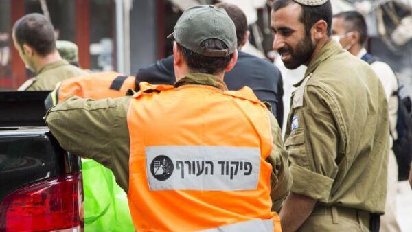 Rescatistas israelís