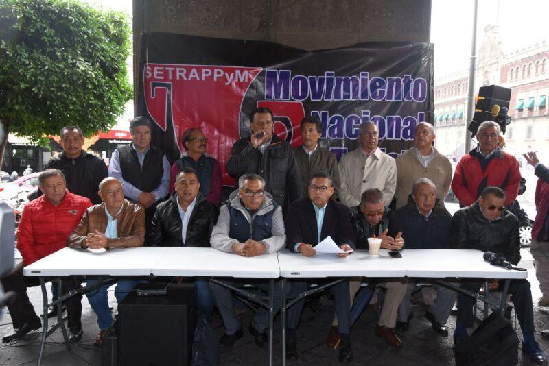 movimiento nacional taxistas