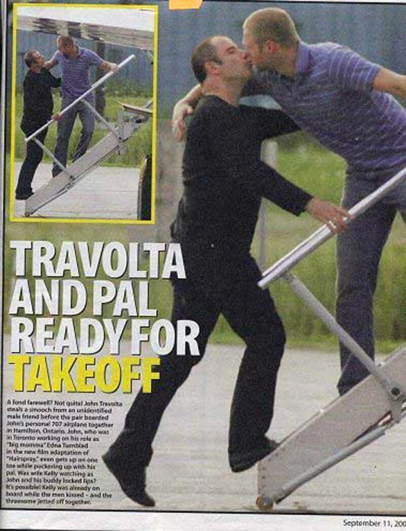 En más de una ocasión, se ha dicho que John Travolta es gay.