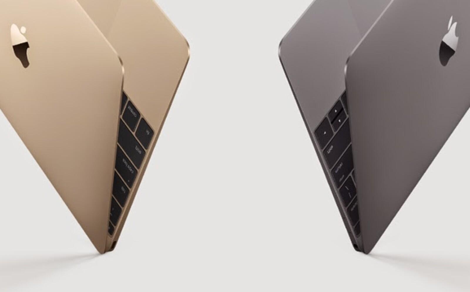 Es la más ligera que ha fabricado Apple y tiene una pantalla de 12 pulgadas.