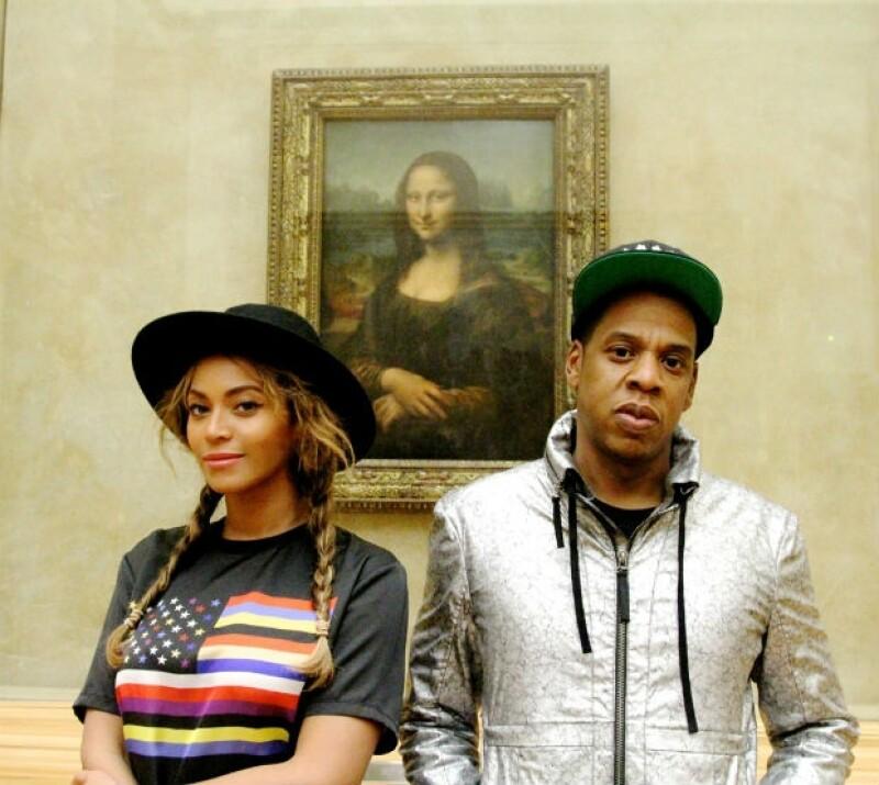 Beyoncé tuvo el privilegio de tener para ella, Blue Ivy y Jay-Z las instalaciones del museo parisino de forma privada, por lo que aprovecharon para documentar su recorrido.
