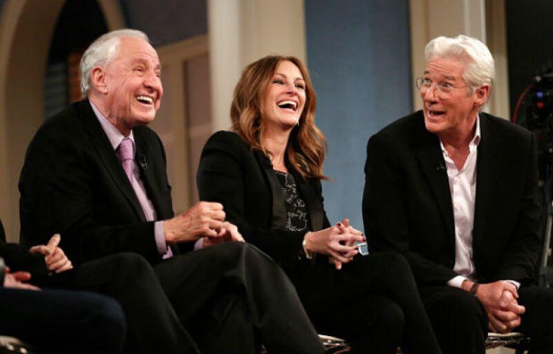 Julia Roberts y Richard Gere, felices en su reencuentro.