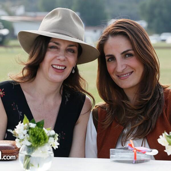 Claudia Marcucetti y Carla Cortina