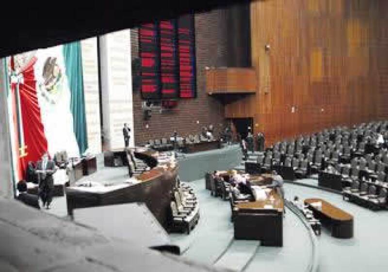 La nueva conformación de la Cámara de Diputados representa un reto para el Ejecutivo. (Foto: Notimex)