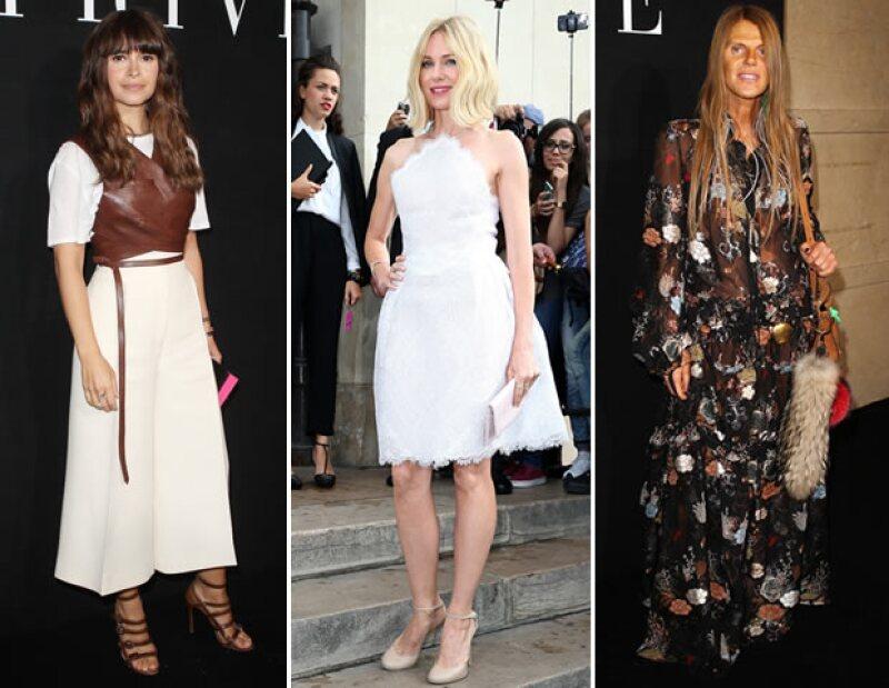 Desde íconos de la industria como Miroslava Duma y Anna Dello Russo hasta celebs como Naomi Watts estuvieron en el front row del desfile de Giorgio Armani Privé.