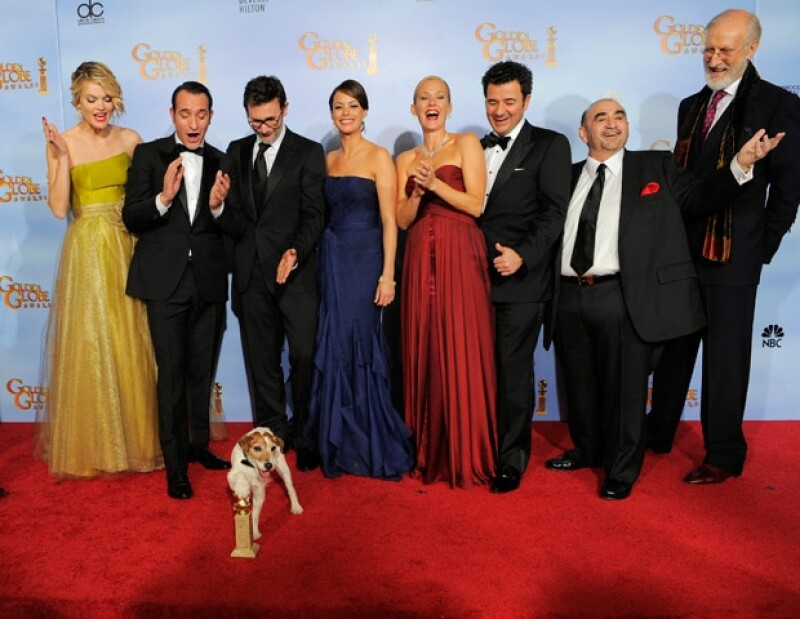 La película The Artist se llevó 3 Globos de Oro.