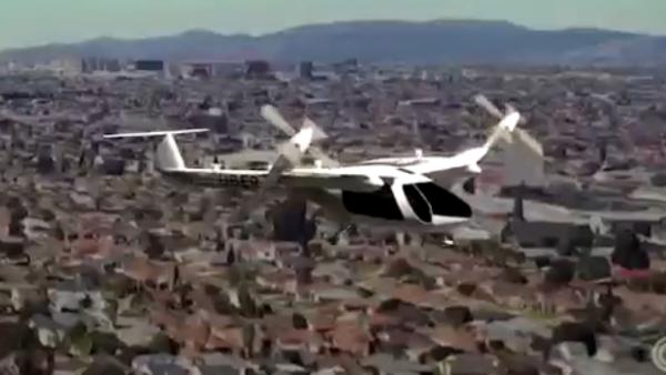 Uber presenta un prototipo de auto volador