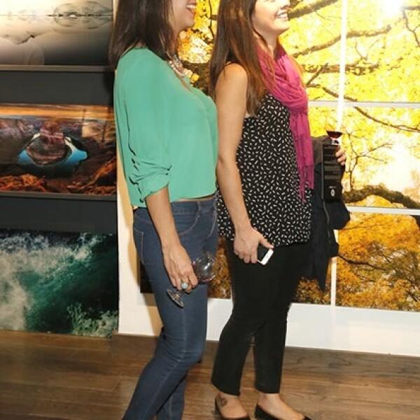 Alejandra Zarate y Carla Danieli