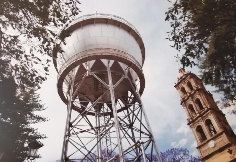 Tanque de agua Celaya