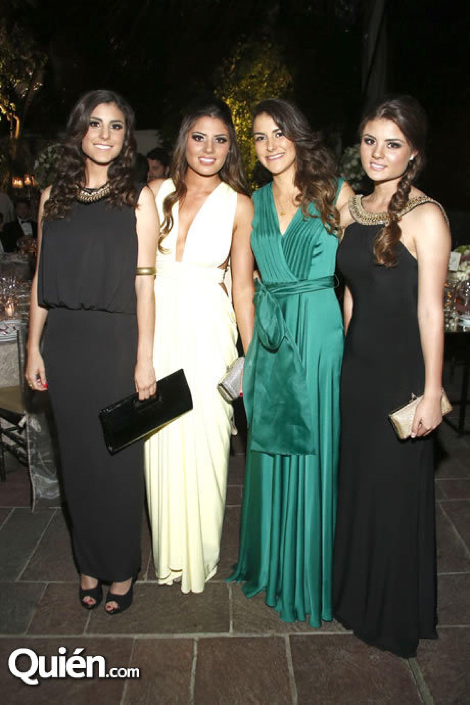 Ximena Cervantes, Aranza Rodríguez, Sofía Guijosa y Fernanda Rodríguez
