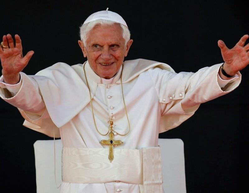 Benedicto XVI permanecerá en México hasta el 26 de marzo, cuando partirá con rumbo a Cuba.