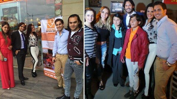 """La fundación """"Vemos con el corazón"""" de la familia Salgado vuelve a recaudar fondos con la ayuda de José Ron y Erika Zaba."""