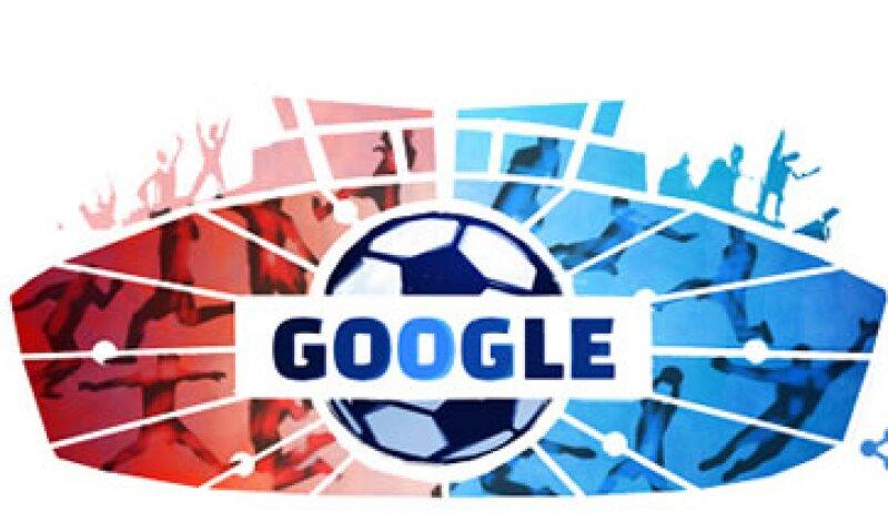El buscador celebra el inicio de la Copa América con los colores de la bandera de Chile, el país anfitrión. (Foto: Google.com)