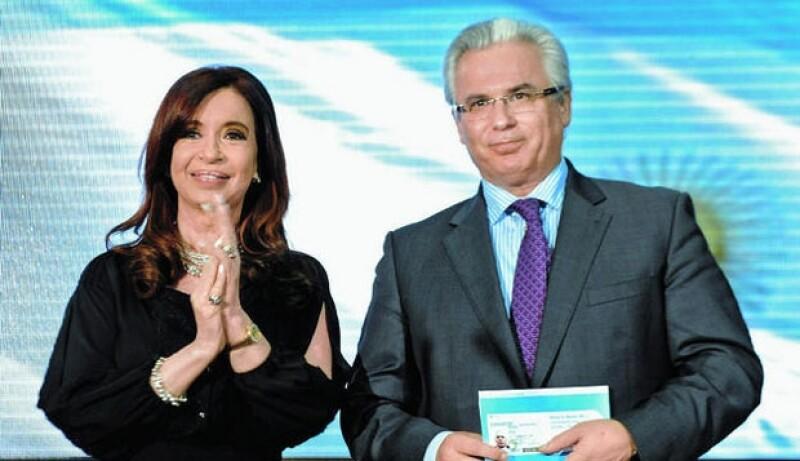 Cristina Fernández de Kirchner y Baltasar Garzón.