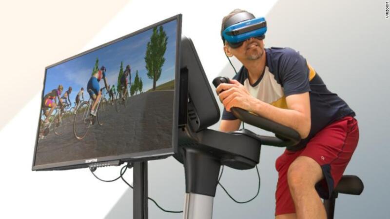 Bicicleta virtual - juego de bicicleta virtual