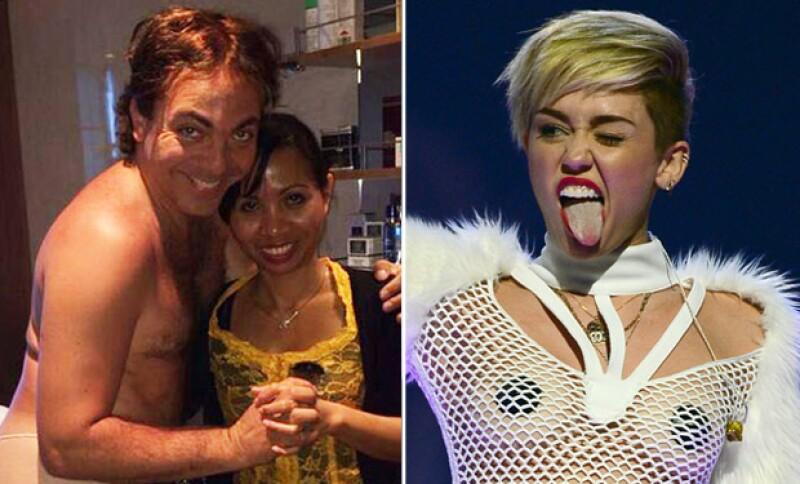 El cantante se siente muy orgulloso de ser capaz de generar la misma polémica que la cantante estadounidense con sus desnudos.