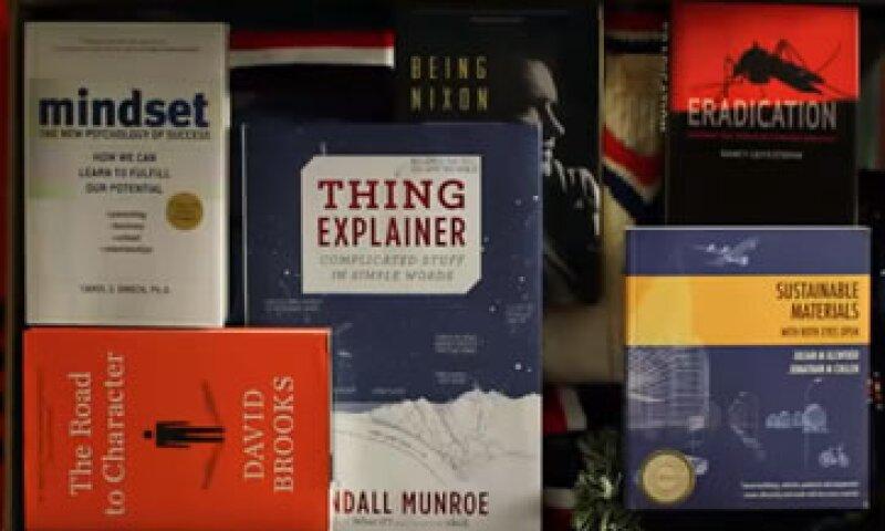 Bill Gates compartió seis recomendaciones de libros a través de una publicación en su blog. (Foto: YouTube/thegatesnotes)