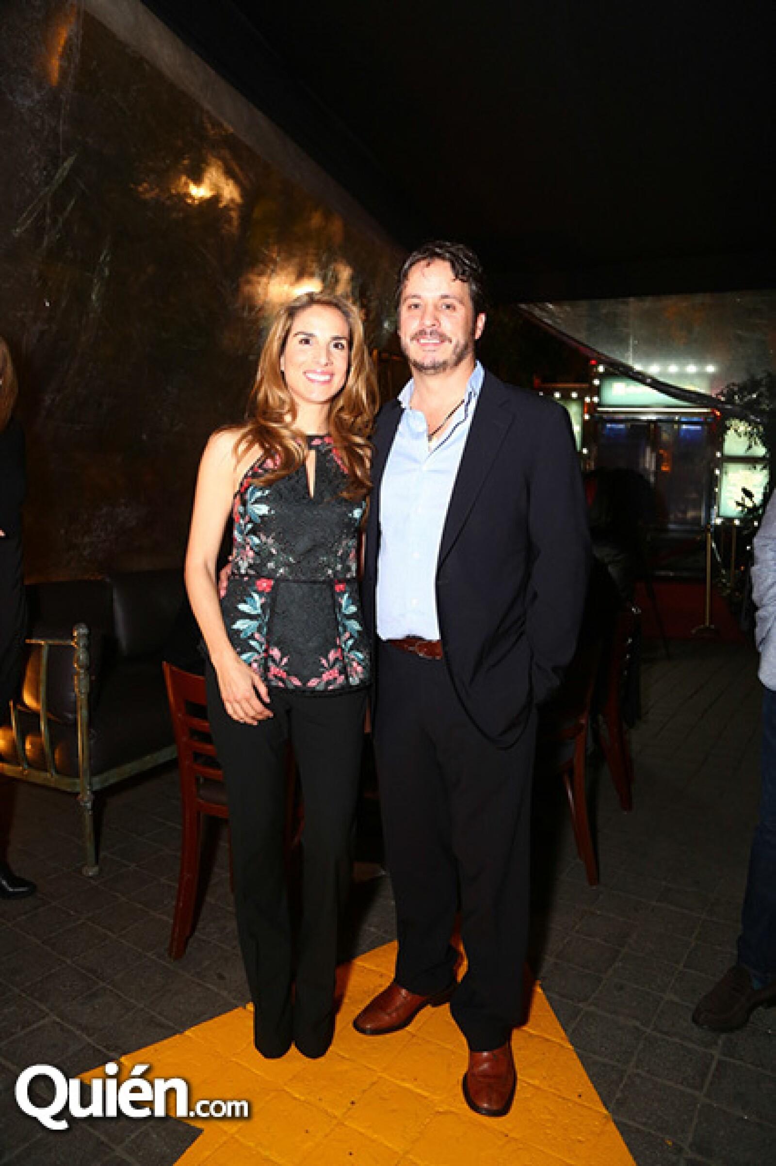 Lourdes Domenzain y Gerardo del Villar