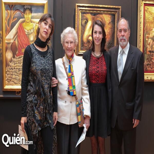 Carolina Echavarría, Marvel Morales, Cecilia Echavarría, Lauro Echavarría