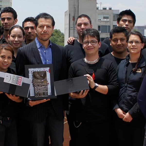 El equipo de Teavana México  tuvo una reunión en la que los colaboradores festejaron aparecer en el ranking de Súper Empresas 2013.