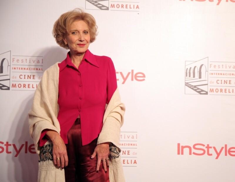 Marisa Paredes fue una de las celebridades más esperadas en la inauguración del FICM.