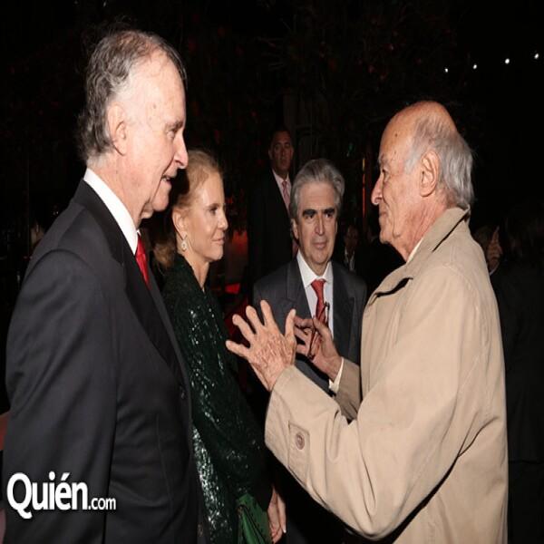 Eduardo Sánchez Navarro,Carolina Sánchez Navarro,Rafael Tovar y de Teresa,José Carral