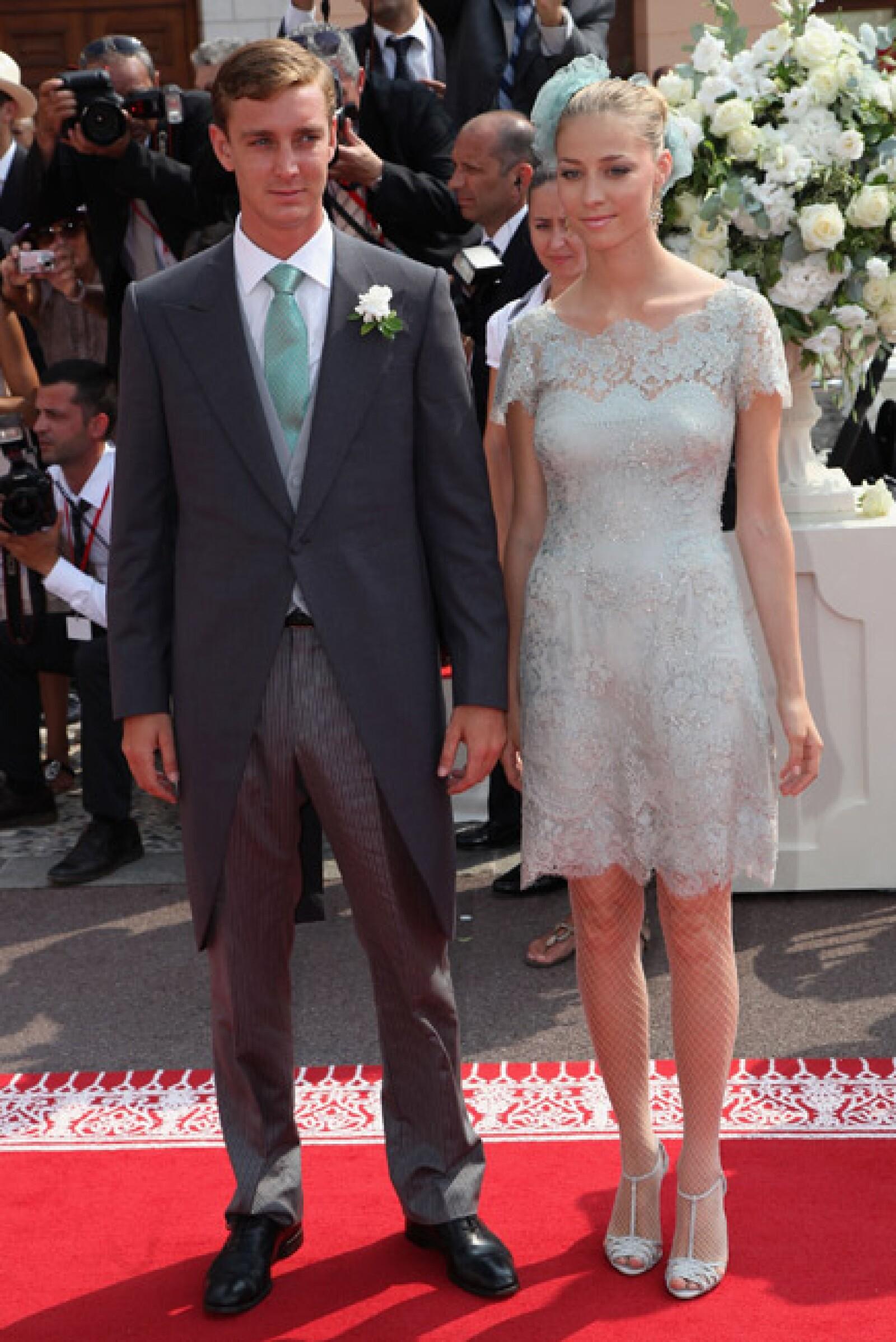 Pierre Casiraghi y su novia Beatrice Borromeo.