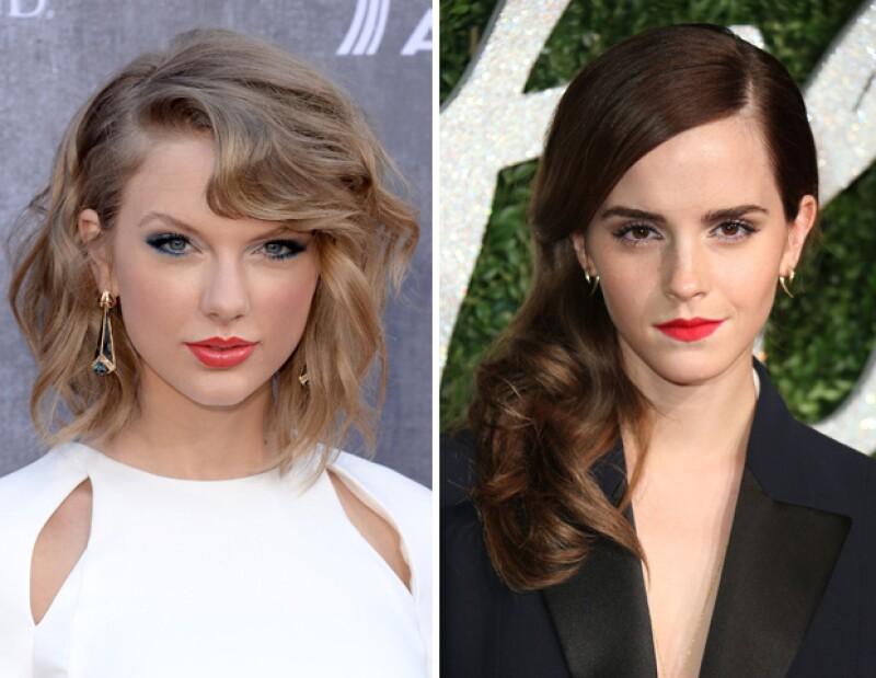 Taylor Swift y Emma Watson